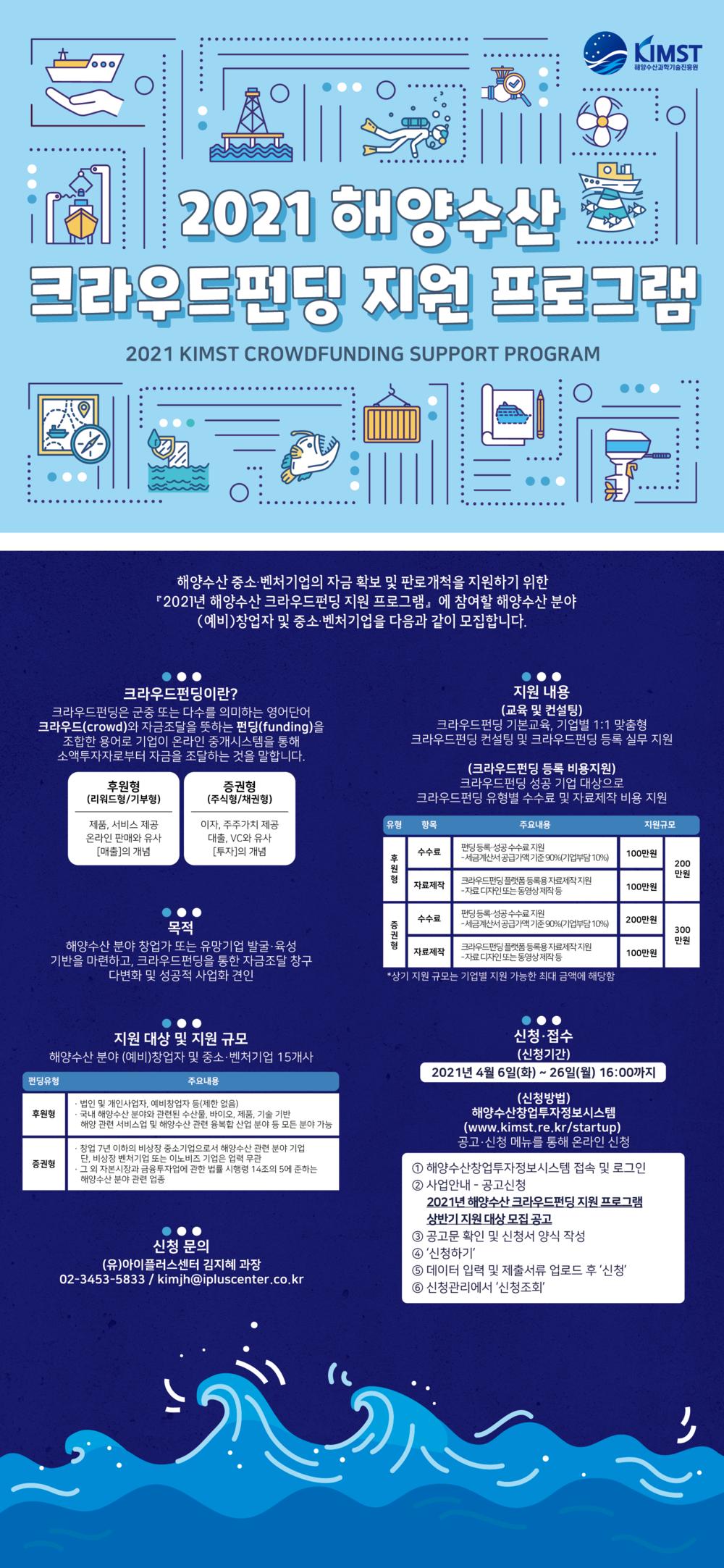 해양수산 크라우드펀딩 지원 프로그램 포스터.png